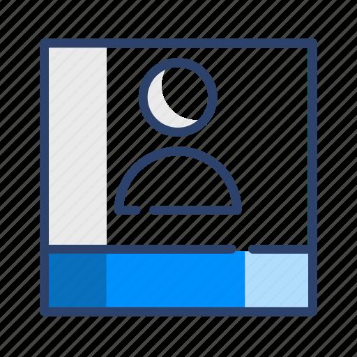 account, avatar, book, contact, profile, user icon