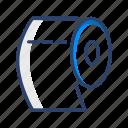 paper, tissue, toilet icon