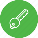 access, hotel, key, lock, open, room, secure icon