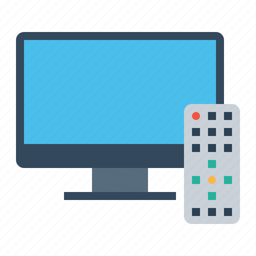 entertainment, hotel, remote, restaurant, room, television, tv icon