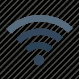 hotel, internet, restaurant, signal, wifi, wireless icon