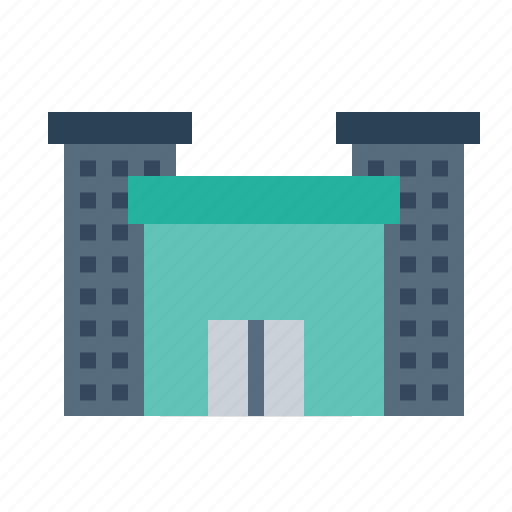 building, destination, holiday, hotel, lodge, luxury, place icon