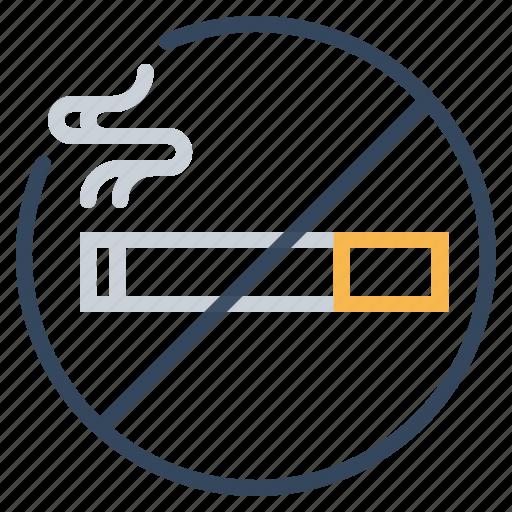 ban, cigarette, forbidden, no, sign, smoking, tobacco icon