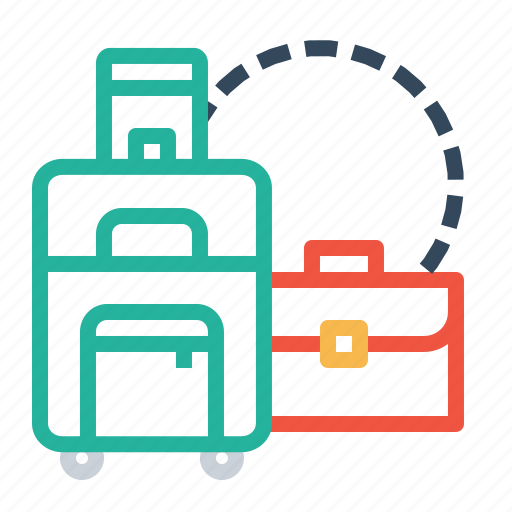 bag, carry, luggage, suitcase, tour, tourist, travel icon