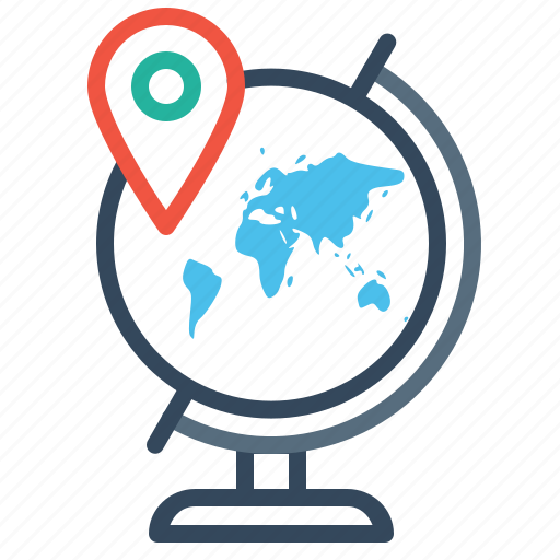 Destination earth location map marker pin world icon icon destination earth location map marker pin world icon gumiabroncs Images