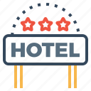 building, hotel, lodge, luxury, ranking, star, three
