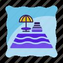 hotel, pool, restaurant, swimming, swimming icon, travel icon