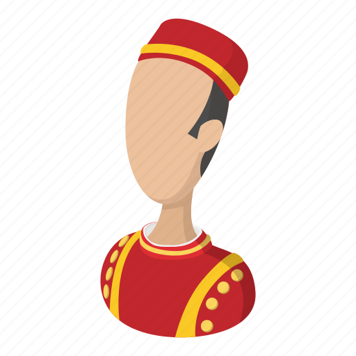 bellboy, cartoon, doorman, hotel, professional, welcome, worker icon