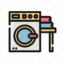 clean, cleaning, clothes, ironing, laundry, wash, washing icon