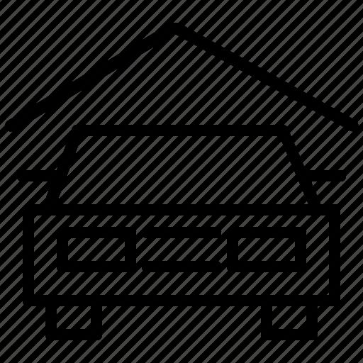 car, facilities, garage, hotel, vehicle icon
