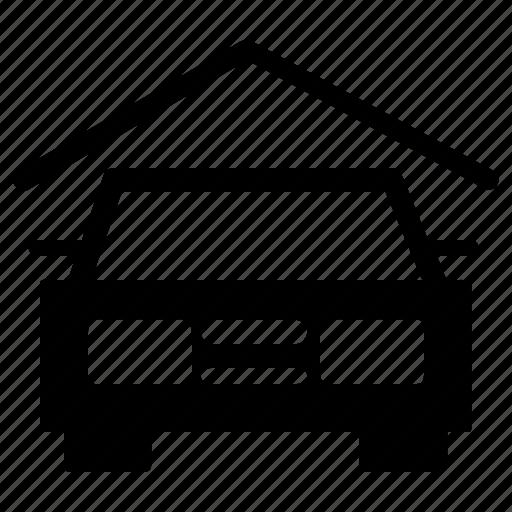 car, facilities, garage, hotel, parking, vehicle icon