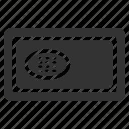 box, hotel, laptop, lock, safe icon
