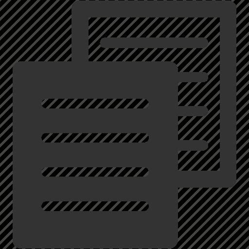 backup, copy, document, new, paper, photocopy icon