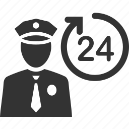 cop, guard, officer, police, protect, security icon