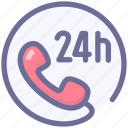 contact, hotel, service icon
