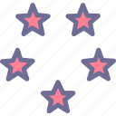 level, rate, rating, stars icon