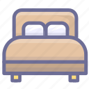 bed, furniture, rest, room icon