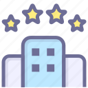 building, hotel, house, room icon