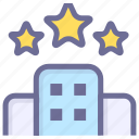 hotel, house, room icon