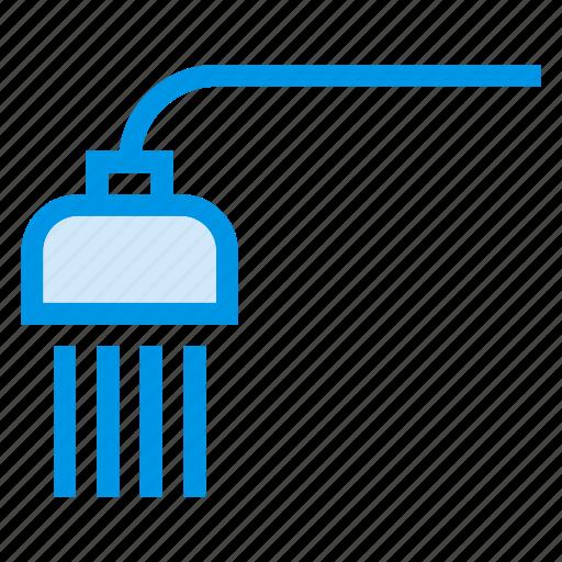 bath, bathroom, clean, shower, showering, wash, washing icon