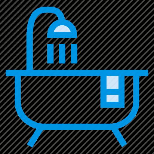 bath, bathroom, bathtub, shower, showericon, showertub, tub icon