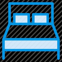 bed, bedroom, furniture, hospital, hotel, households, medical icon
