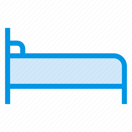 bed, furniture, hospital, hospitalbed, households, medical, patientbed icon