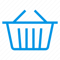 bucket, clothesbucket, home, pail, paintbucket, pot, shoppingcart icon