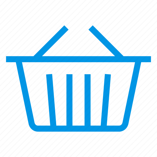 bucket, clothesbucket, home, pail, paintbucket, pot, shoppingcart icon