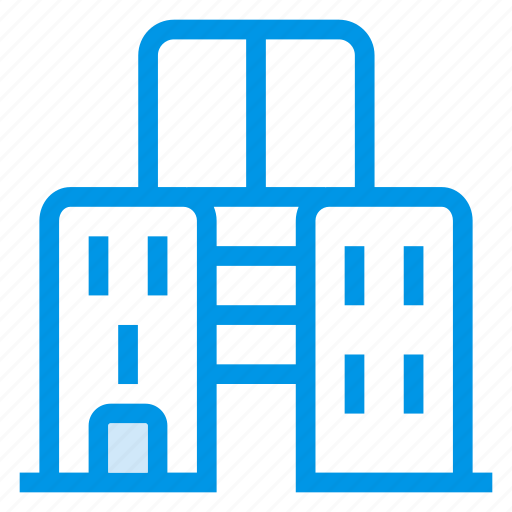 buildings, business, city, company, estate, offices, property icon