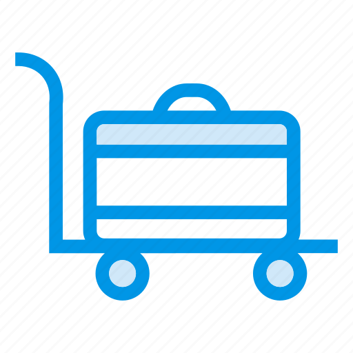 cart, checkout, loaded, luggage, shopping, shoppingcart, supplies icon