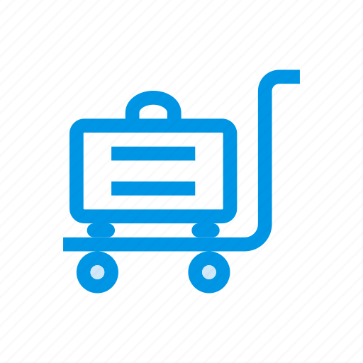 bucket, cart, luggage, purchase, shopping, shoppingcart, trolley icon