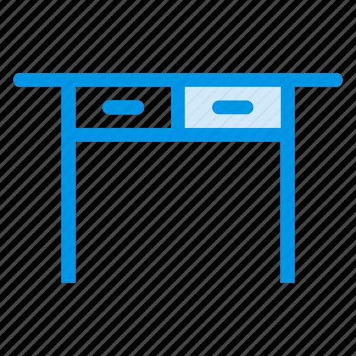 cabinet, desk, deskdrawers, drawers, furniture, storage, wooden icon