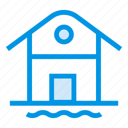 apartment, building, estate, greenhouse, home, house, real icon
