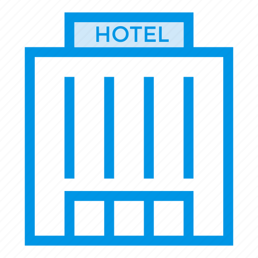 commercial, hostel, hotel, hotelbuilding, hotelflats, service, tower icon