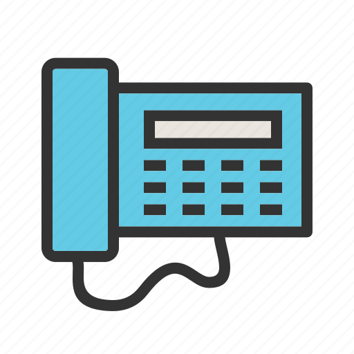 Business, digital, display, lcd, office, phone, telephone icon - Download on Iconfinder