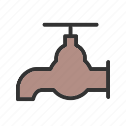 hotel, outdoor, sprinkler, tap, wash, washing, water icon