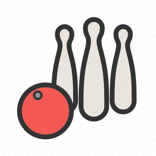 Ball, bowl, bowling, pins, play, sport, throw icon - Download on Iconfinder