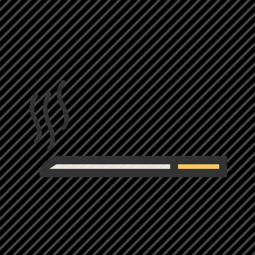 burn, cigarette, cigarettes, danger, health, nicotine, tobacco icon
