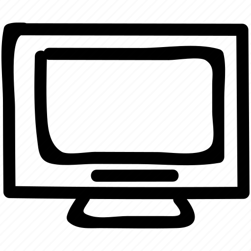 device, display, entertainment, monitor, technology, television, tv icon