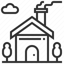 building, estate, home, house, rent icon
