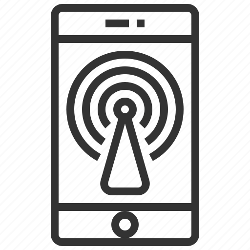 communication, connection, hotspot, network, service, wifi icon