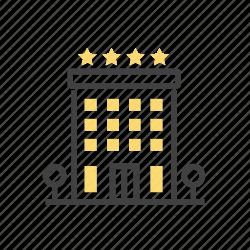 architecture, building, hotel, property icon