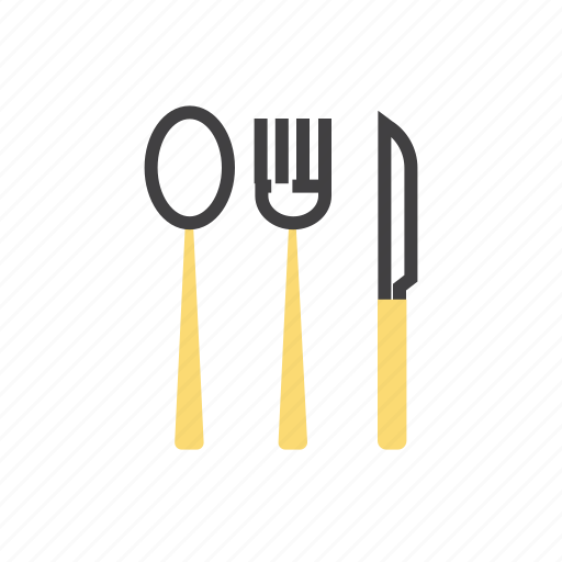 cooking, food, fork, knife, restaraunt icon