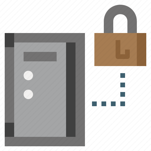 box, business, money, safe, savings, security, strongbox icon