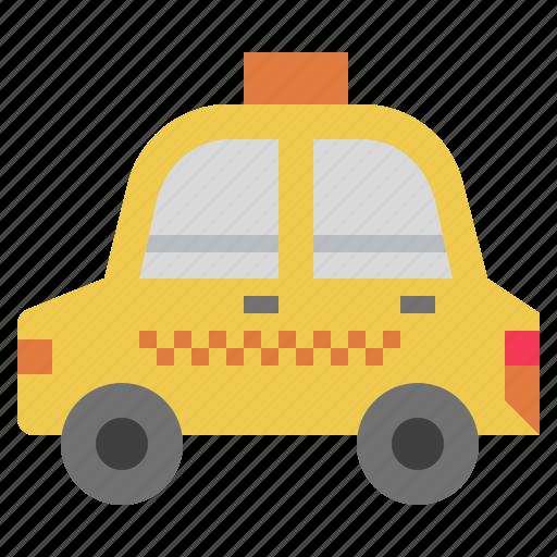 automobile, car, public, taxi, transport, transportation, vehicle icon