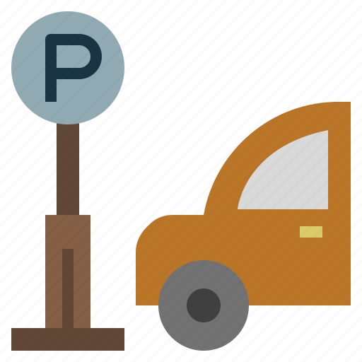Automobile, parking, sign, signs, vehicle icon - Download on Iconfinder