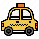 automobile, car, public, taxi, transport, transportation, vehicle icon