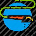bath, bathroom, convenience, hot, shower, water icon