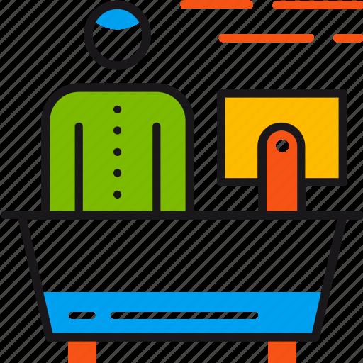customer, help, hotel, information, reception, service, support icon